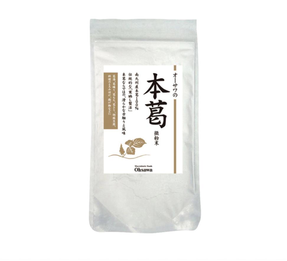 オーサワの本葛(微粉末) 100g 商品コード:O-0334