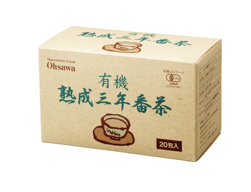 有機熟成三年番茶(ティーバッグ)36g(1.8g×20包) 商品コード:O-0172