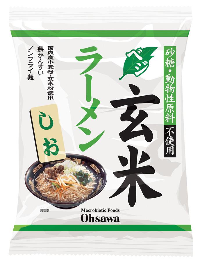 オーサワのベジ玄米ラーメン(しお) 商品コード:O-6687