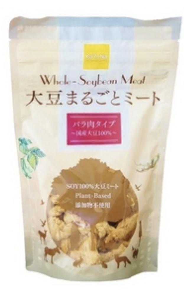 大豆まるごとミート/バラ肉タイプ 80g 商品コード:C-100020