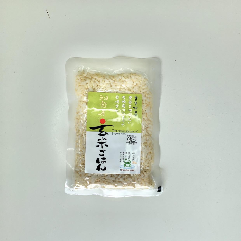 愛情籾発芽玄米ご飯 (160g) 商品コード:Y-8401