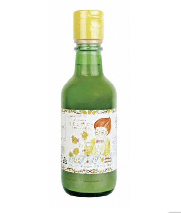 有機レモン果汁(スペイン産)200ml 商品コード:O-6925