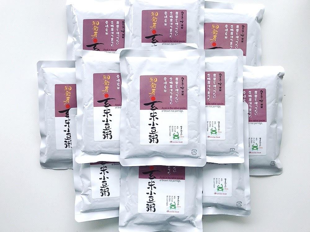 愛情籾発芽玄米小豆粥(200g) 12袋 商品コード:Y-8411