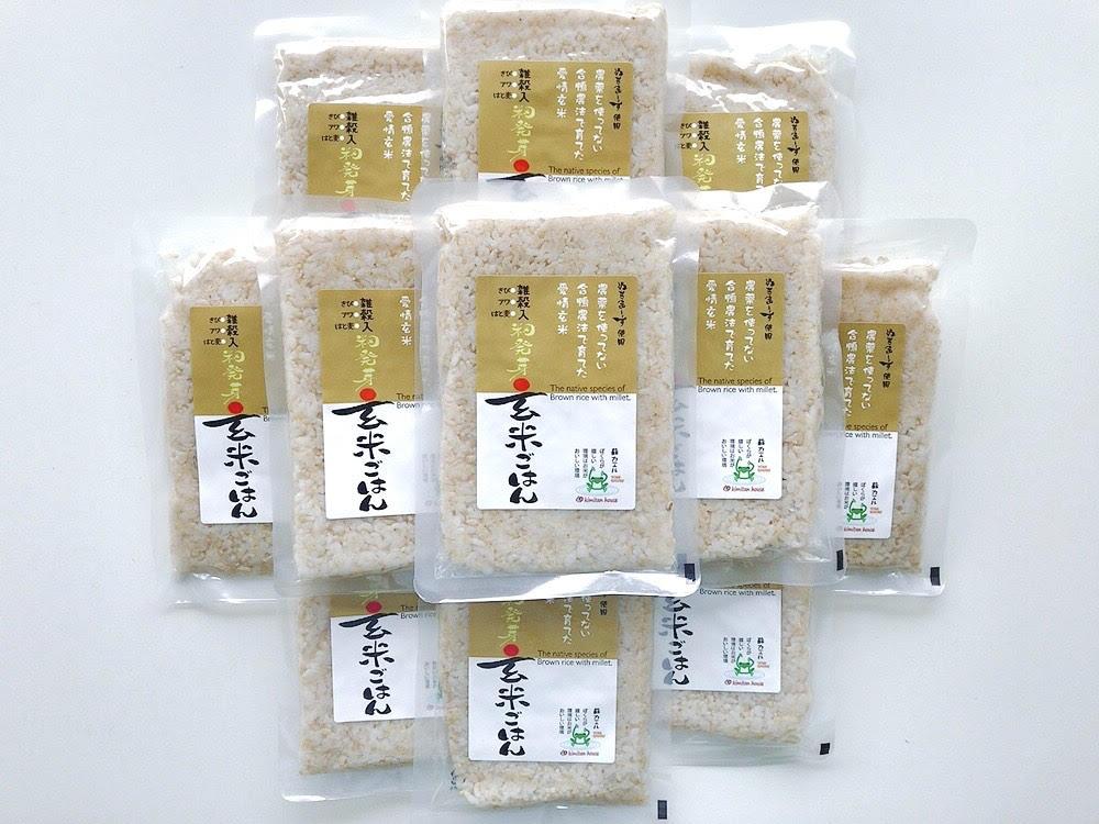 愛情籾発芽雑穀入玄米ご飯(160g) 12袋 商品コード:Y-8409