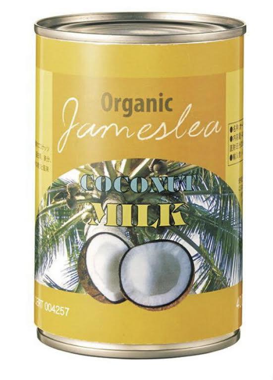 オーガニックココナッツミルク 400ml 商品コード:O-1492