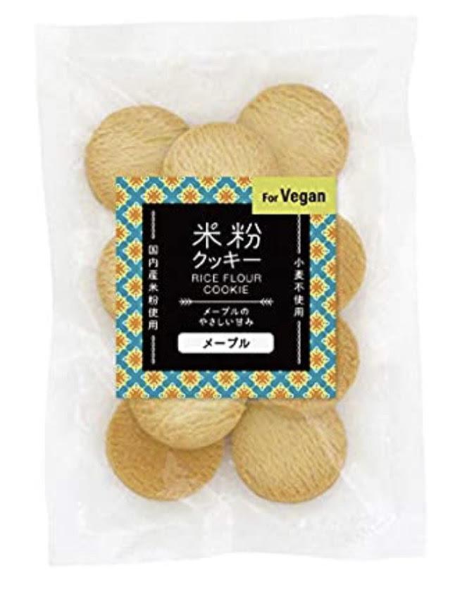 米粉クッキー(メープル) 商品コード:O-3211