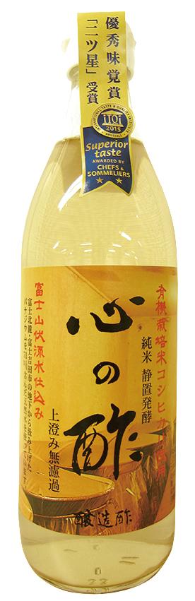 心の酢(純粋米酢)500ml 商品コード:O-3744