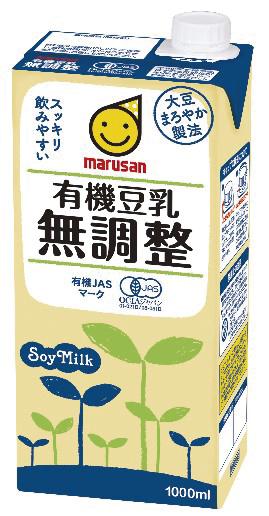 有機豆乳無調整 1L 商品コード:K-190096