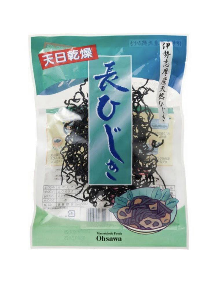 長ひじき(伊勢志摩産) 30g 商品コード:O-0540
