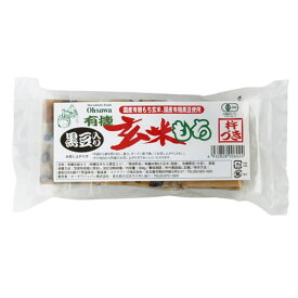 有機玄米もち 黒豆入り  300g(6個) 商品コード:O-0602